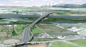 A picture worth $3 billion: rendering of new bridge.