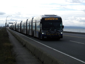 TransLink's congestion-clearing super-bus.